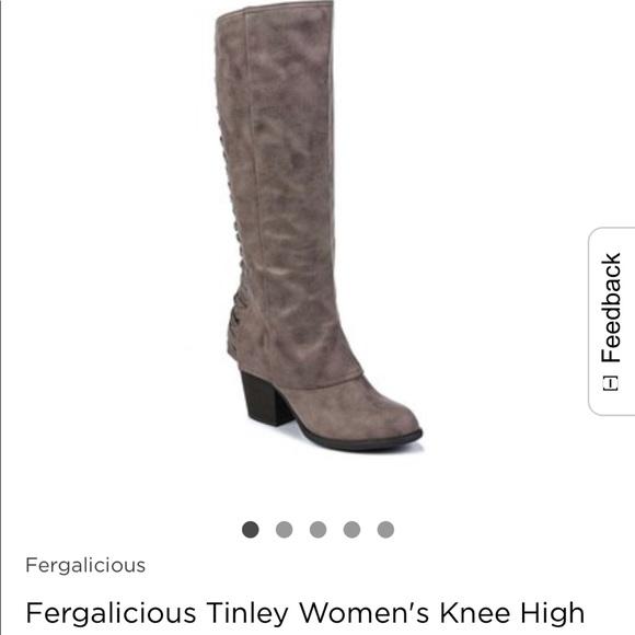 f6a218619e8 Fergalicious Shoes - Fergalicious Tinley Women s Knee High Boots